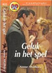 Mallory Anne  Vertaling  Kitty Bouwens - Geluk in het Spel   Candlelight No : 825
