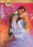 Latham Julia Vertaling Translance J.C. van Kleef - Bezwaard Hart  Candlelight Historische roman  810