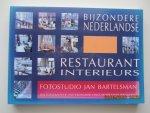 Bartelsman, Jan - Bijzondere Nederlandse restaurantinterieurs : een fotografische ontdekkingsreis langs Nederlandse restaurants
