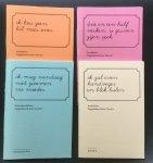 Govert - Anekdotes. Opgetekend door Govert Schoolschrift A, Schrift B, Schrift C en Schrift D