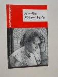 SIMONS, WIM J., - Henriette Roland Holst.
