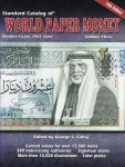 Cuhaj, George S. (edited by) - Standard Catalog of World Paper Money Volume 3. Modern Issues 1961-Date. 10th Edition