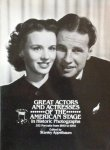 Appelbaum, S. - Great Actors and Actressesof The American Stage in Historic Photographs