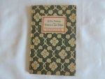 Hans Christian Andersen H. C. - Bilderbuch ohne Bilder,  Insel-Bücherei nr. 192.