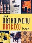 Eliëns, Titus. - Het Art Nouveau Art Deco Boek. Nieuwe Kunst, Amserdamse School, Haagse School en Het Nieuwe Wonen.