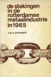 Binneveld, J.M.W. - De stakingen in de Rotterdamse metaalindustrie in 1965