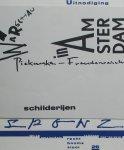 Wees, Lieneke van ; Anna Kloosterboer ;  Emilia Piekarska-Freudenreich et al. - Sponz 82 83