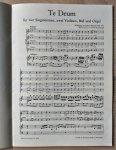Mozart - MOZART - Te Deum - KV 141 - KLAVIER AUSZUG - nr. 6546