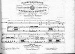 Sammelband: - [Sammelband mit 12 italienischen Opern-Arien und Duetten, alle mit Klavierbegleitung]