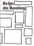 Koning, Krijn de / Davies, Simon / Schijvens, Lauran (editing) (ds1373B) - Krijn de Koning. (Engelse editie)