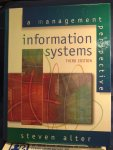 Alter, Steven - Information systems ; a management perspective; Third edition