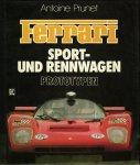 PRUNET, Antoine - Ferrari. Sport- und Rennwagen. Prototypen