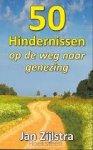 Zijlstra, J.P.H. - 50 hindernissen op de weg naar genezing / druk 1