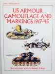 Zaloga, Steven. J. - US Armour Camouflage and Markings 1917-45.  Vanguard 39.