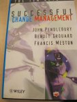Pendlebury, John - The ten keys to succesful change management