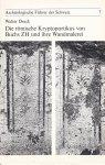 Drack, Walter - Die römische Kryptoportikus von Buchs ZH und ihre Wandmalerei