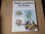 Derbyshire &  Renee Burgess. Jane - Drogen en prepareren van bloemen / met schilderijtjes en vele andere onderwerpen