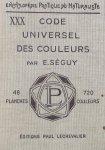 Seguy, E. - Code universel des couleurs.