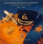 Winter, Rolf. de.   Loo, Erwin. van. - Luchtmachtbevelhebbers geportretteerd. 1954-2005.