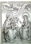 Eekhout, J. v. & Oosten A.J.D - Madonna's ..  Voorstellingen van oude meesters ..  Teksten uit de Mariaverering.