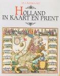 Boomgaard, J.E.A. - Holland in kaart en prent.