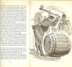 Schefter, Age  .. Met illustraties in zwart-wit van Reind de Jonge prachtige tekeningen - Branding Vooruit