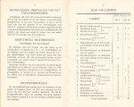 Ministerie van Binnenlandsche zaken en landbouw - Programma van onderwijs Rijkslandbouwwinterschool Groningen winterhalfjaar 1931-1932