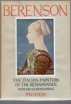 Berenson Bernard - the Italian Painters of the Renaissance, with 400 illustrations.