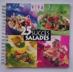 red. - Viva kookboek. 25 successalades.