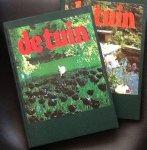 redactie - De tuin; maandblad voor particuliere tuinbezitters, tuinarchitecten, hoveniers