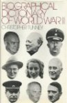 TUNNEY, Christopher - A biographical dictionary of World War II