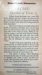 Stevenson, Robert Louis - A Child's Garden of Verses (ENGELSTALIG)