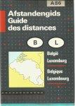 Redactie - Afstandengids Belgie en Luxemburg / Guide des distances Belgique et Luxembourg