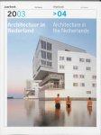 A. Hoogewoning - Architectuur in Nederland  Jaarboek