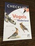 Folkers, Jack - Checklist Vogels van Nederland