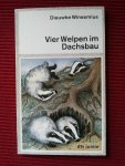 Winsemius, Dieuwke - Vier Welpen im Dachsbau