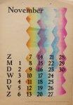 Berg, Siep van den - Kalender 1948 - November