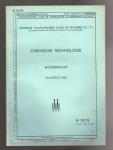 - 5019 Chemische technologie: woordenlijst Augustus 1951