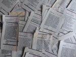 Eitje (column, voorpagina Volkskrant) - Aantal (96) knipsels Eitje 1988/1989