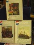 Verwey, Gerlof - Geschiedenis van Nederland, deel 1, 2 en 3, levensverhaal van zijn bevolking