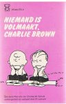Schulz, Charles M. - Niemand is volmaakt, Charlie Brown