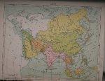 antique map (kaart). - Azie. (Asia).