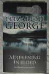 George, Elizabeth - Afrekening in bloed