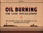 Wallsend Slipway and Engineering Co. Ltd. - Oil burning for land installations