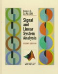 Gordon E. Carlson - Signal and Linear System Analysis
