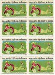 ontwerp: Dick Elffers - blok van 8 sluitzegels 'vacantie tijd om te lezen'