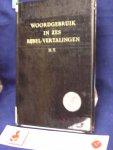 Dooren, J. P van - Woordgebruik in zes Bijbel-vertalingen N.T, Supplement bij Trommius Concordantie van de Bijbel