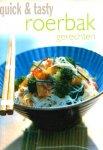- ROERBAK Gerechten - Quick & Tasty - uitgeverij R&B