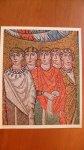 "red. - Olivetti-kalenderplaten 1957  ""Mosaico Di Ravenna"""