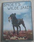 Henri van Welmeskerken (tekst) - Piet van der Helm (ill.) - Snoet's wilde jaren - de geschiedenis van een hond - plaatjesalbum